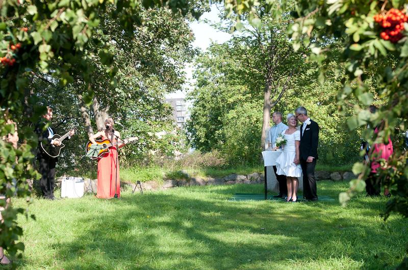 Sara & Anders bröllop - 20/8 2011