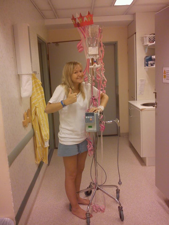 en vanlig dag på sjukhuset