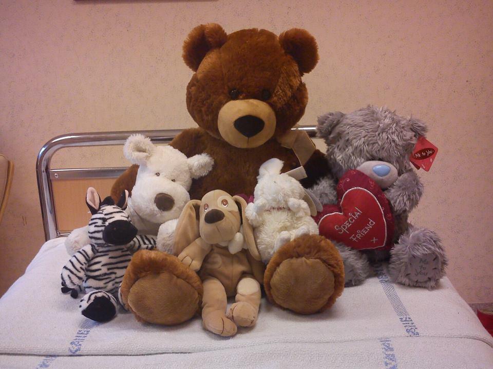 Jag var i alla fall aldrig ensam på sjukhuset =) Tack alla underbara Ni!