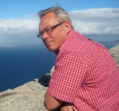 Pappa på besök på Gran Canaria 2009