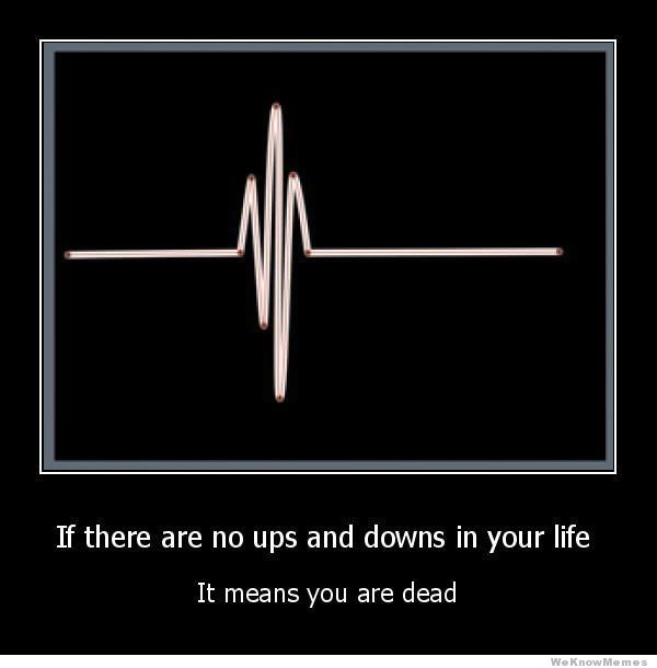 if-there-are-no-ups-and-downs-in-your-life